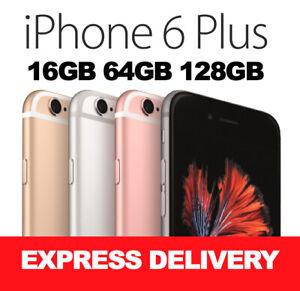 APPLE iPHONE 6 PLUS 16GB 64GB 128GB 4G 100% UNLOCKED REFURBISHED