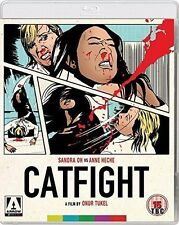 BRAND NEW! CATFIGHT Anne Heche vs Sandra Oh Blue Ray, High Def, Deleted Scenes