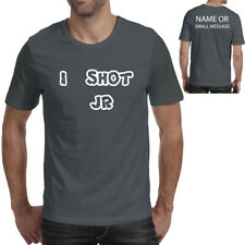 Mens I shot J R father ted inspired Tee Top