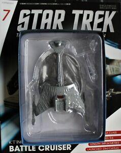 Eaglemoss Star Trek Battle Cruiser + Magazine No.7