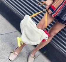 Plush Handbag Women's Messenger Chicken Shoulder Bag Purse Cute Children Girls