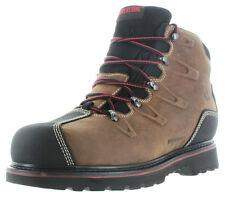 """Wolverine Hacksaw 6"""" Men's Steel Toe Waterproof Leather Boots Vibram Size 14"""