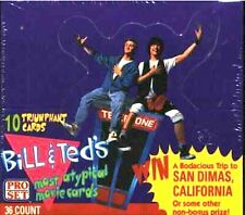 1991 ProSet Pro Set Bill & Ted's Most Atypical Movie, Fill Your Set, Pick 20!