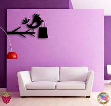 Wall Sticker Branch Bird With Gift Modern Decor for Bedroom z1356
