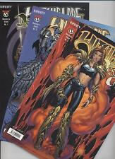 WITCHBLADE DESTINY`S CHILD (deutsch) # 1+2+3 KOMPLETT - INFINITY 2003 - TOP