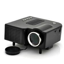 NEW MINI LED VIDEO PORTABLE COMPACT PROJECTOR PORTIMAX 300:1 LAPTOP HOME TRAVEL