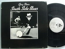 GARY SLOAN: South Side Blues  ULTRA RARE PRIVATE BLUES AUTHOGRAPHED NM LP