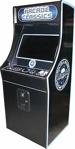"""2 Player 32"""" Multi-Game Retro Home Video Arcade #1 Rated MAME(tm) Buy w/Bitcoin!"""
