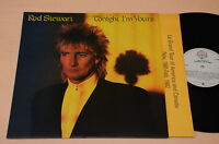 ROD STEWART LP TONIGHT I'M YOURS 1°ST ORIG ITALY NM ! UNPLAYED !