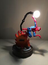 Marvel Comics SPIDER-MAN TEK Time Collector's Digital Clock Street Light 2003