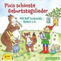 PIXI HÖREN/PIXIS SCHÖNSTE GEBURTSTAGSLIEDER  CD NEU