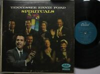 Country Lp Tennessee Ernie Ford Spirituals On Capitol