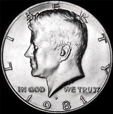 1981 P Kennedy Half Dollar - BU