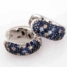 Effy Estate Beautiful  Earrings Solid 925 Sapphire Earrings Excellent Condition