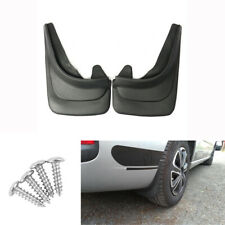 2Pcs Black ABS Car Truck Modified Mudflaps Splash Guards Fender with Accessories