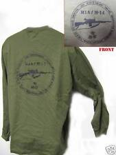 M14/ M1A LONG SLEEVE T-SHIRT/ SWAT/ SNIPER/ POLICE/ MILITARY/ NEW