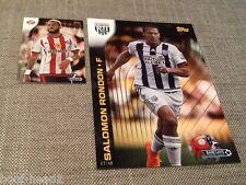 Salomon Rondon West Brom /49 Topps Premier Gold 2015 5x7 wall art card #142 WBA