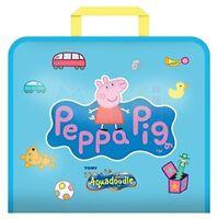 NEW AquaDoodle T72368 Peppa Pig Doodle Travel Bag Mess Free Drawing Fun CHILDREN