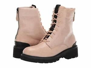 New in Box FRYE Womens Allison Combat Boots Cream Size 9.5 MSRP $ 278 70420