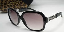 NEW GUESS GF 0291 01B Black Chain Womens SUNGLASSES w/Guess Hard Case Authentic