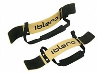 ISLERO Weightlifting Arm Blaster Biceps Isolator Gym Support Straps Fitness Wrap