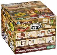 Re-Ment Petit sample series Antique Shop Kuronekodou All 8 items set Box
