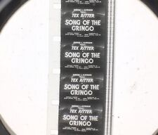 16mm Feature Films - Collection Of 5 B Westerns