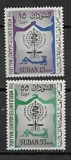Sudan , 1967 , Who , Malaria , Set Of 2 Stamps , Perf , Mnh