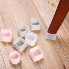 4X Table Chair Leg Silicone Cap Pad Furniture Table Feet Cover Floor Protector