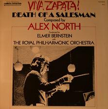 """OST - SOUNDTRACK - VIVA ZAPATA! DEATH OF A SALESMAN - ALEX NORTH   12"""" LP (L445)"""