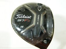 New RH Titleist 917 F2 15* 3 Fairway Wood Fujikura Speeder 84g Stiff Graphite