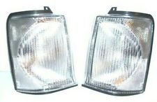 RANGE ROVER P38 FRONT CLEAR INDICATOR LIGHT SET (2) WITH BULBS - XBD100920/30