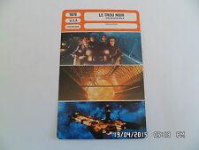 CARTE FICHE CINEMA 1979 LE TROU NOIR Maximilian Schell Anthony Perkins
