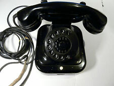 W28, W38 ? antikes Telefon, Siemens, Bakelit/Metall Original