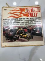 SUPER STOCKS & VARIOUS ARTISTS HOT ROD RALLY 1963 NM / NM STEREO CLASSIC HOT ROD