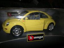 1:18 Bburago VW New Beeetle gelb/yellow OVP