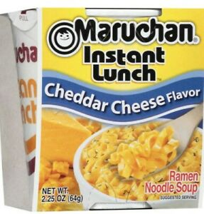 Maruchan Instant Lunch Cheddar Cheese  Flavor Ramen Noodle Soup 24 Pack Cups