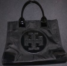 Tory Burch Ella Nylon Large Tote Black