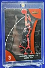 DWYANE WADE TOPPS FINEST RED BLACK CHROME SURFACE SP RARE MIAMI HEAT