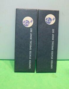(2) 1967 US Special Mint Sets Original Packing!!