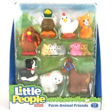 Fisher Price Little People Farm Animal Friends Border Collie Dog Sheep Turkey
