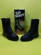 NOS TINGLEY RUBBER EXECUTIVE ZIP BOOTS OVER SHOE MENS SIZE SMALL 7-8.5