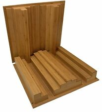 Auralex Sustain QuadraTec Diffusor Bamboo 2 pack Acoustic Treatment