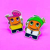 *2 PACK* Fairly Odd Peccy Pin Set