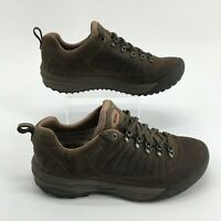 Teva Forge Pro eVent Hiking Sneaker Shoes Lace Up Waterproof Leather Brown Men 9