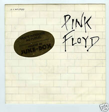 45 RPM SP PINK FLOYD ANOTHER BRICK IN THE WALL  JUKE BOX