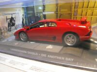 JAMES BOND CAR LAMBORGHINI DIABLO MODEL GIFT DIE ANOTHER DAY JAMES BOND GIFT UK