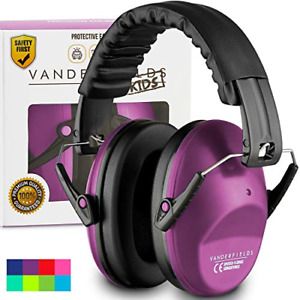 Ear Defenders For Kids Toddlers Autism Hearing Protection Noise Reduction Purple