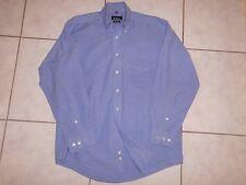 WIE NEU Mc NeaL Oxford Hemd Businesshemd Freizeithemd Gr 39-40 blau jeansblau