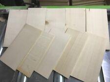 Tonewood Fichte Spruce Ukulelen Holz Decke Aufleimer Guitar Tonholz Blank 10 er